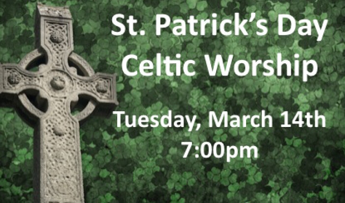 St. Patrick's Day Worship