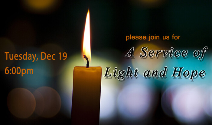 Service of Light and Hope