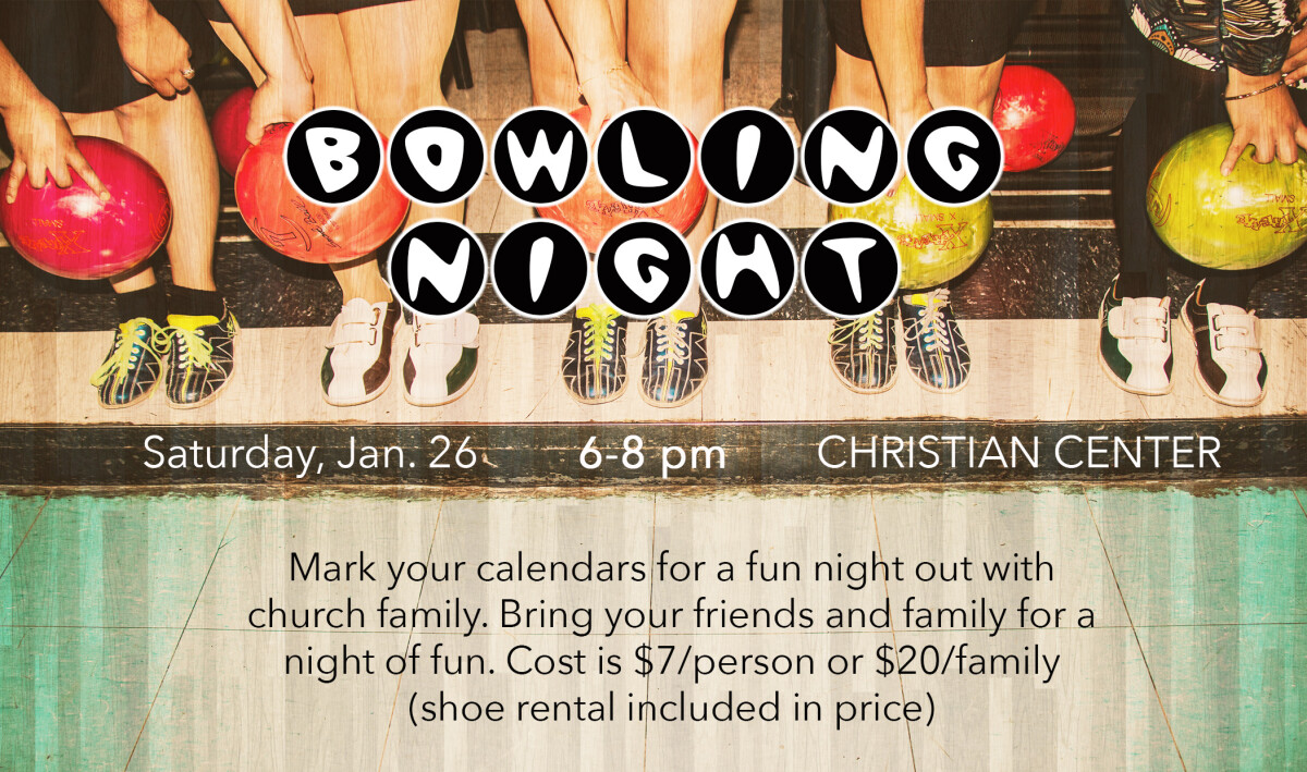 Family Bowling Night at the Peoria Christian Center on Brandywine Drive, Peoria